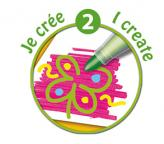 Descriere Carioci, 12 culori/set, BIC KiDS MINI COLOUR & CREATE