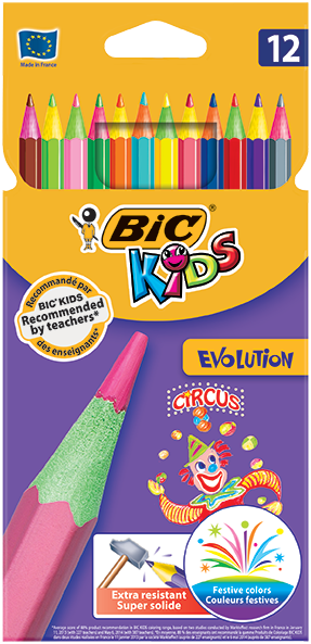 "EVOLUTION ""CIRCUS"" colouring pencils"