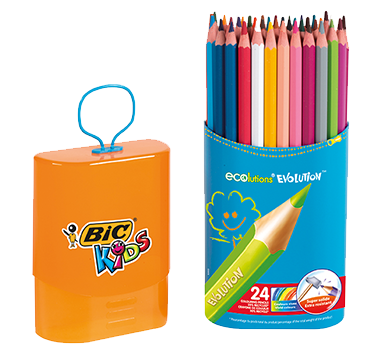 ECOLUTIONS™ EVOLUTION™ colouring pencils CASE