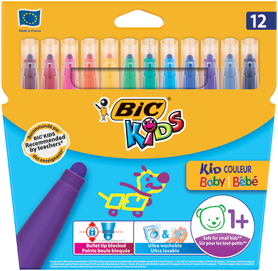 KID COULEUR BABY felt pens