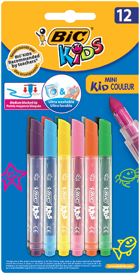 MINI KID COULEUR felt pens