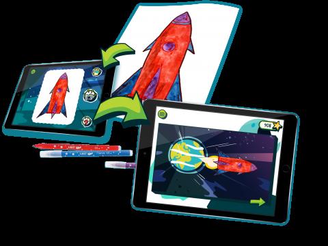 Entdecken sie die neue BIC®Kids DrawyBook app | BIC KIDS